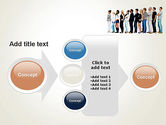 People Standing in Line PowerPoint Template#17