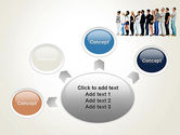 People Standing in Line PowerPoint Template#7