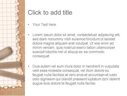 Handmade Card PowerPoint Template, Slide 3, 12693, Holiday/Special Occasion — PoweredTemplate.com