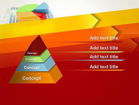 Three Dimensional Pie Chart PowerPoint Template Slide 12