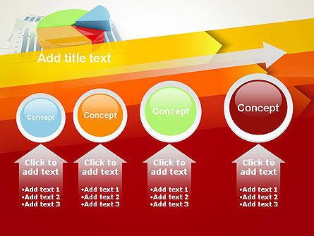 Three Dimensional Pie Chart PowerPoint Template Slide 13