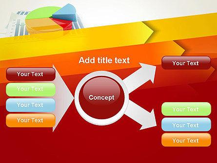 Three Dimensional Pie Chart PowerPoint Template Slide 14