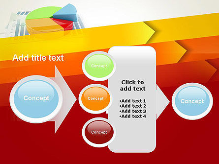Three Dimensional Pie Chart PowerPoint Template Slide 17