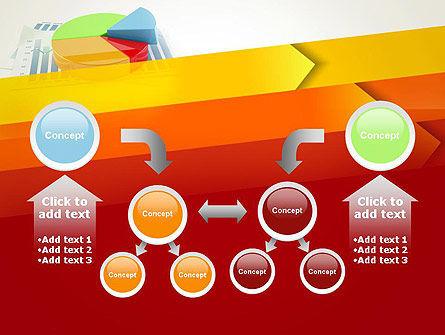 Three Dimensional Pie Chart PowerPoint Template Slide 19