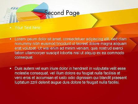 Three Dimensional Pie Chart PowerPoint Template, Slide 2, 12696, Business Concepts — PoweredTemplate.com