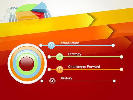 Three Dimensional Pie Chart PowerPoint Template, Slide 3, 12696, Business Concepts — PoweredTemplate.com