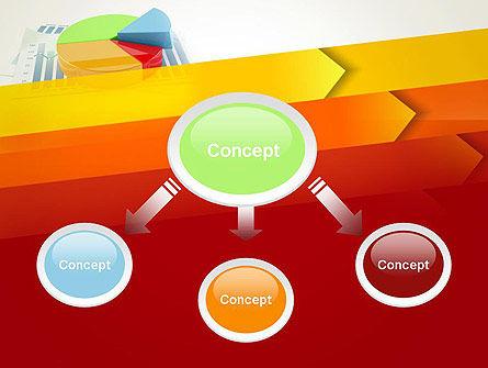 Three Dimensional Pie Chart PowerPoint Template, Slide 4, 12696, Business Concepts — PoweredTemplate.com