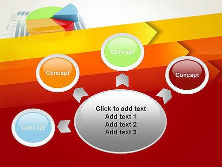 Three Dimensional Pie Chart PowerPoint Template Slide 7