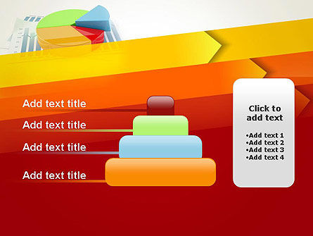 Three Dimensional Pie Chart PowerPoint Template Slide 8