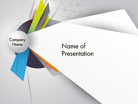 Abstract/Textures: Origami Style PowerPoint Template #12697