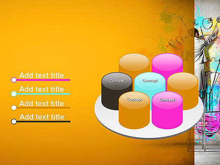 Creative Mind PowerPoint Template Slide 12