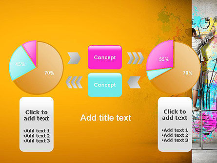 Creative Mind PowerPoint Template Slide 16