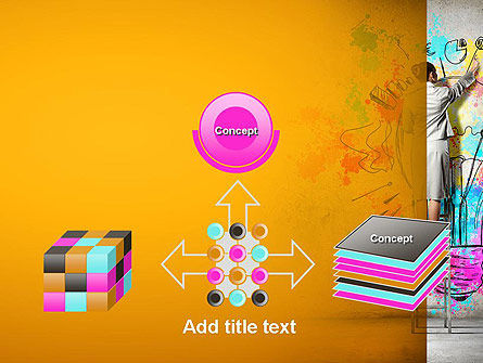 Creative Mind PowerPoint Template Slide 19