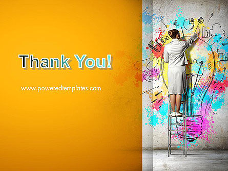 Creative Mind PowerPoint Template Slide 20