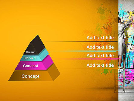 Creative Mind PowerPoint Template, Slide 4, 12698, Business Concepts — PoweredTemplate.com