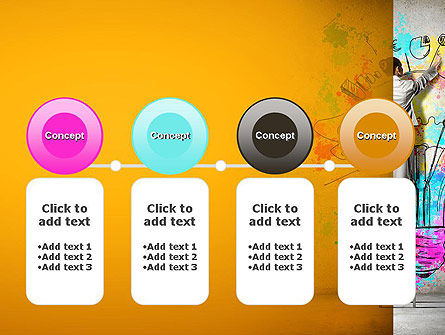 Creative Mind PowerPoint Template Slide 5