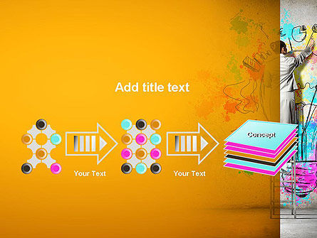 Creative Mind PowerPoint Template Slide 9