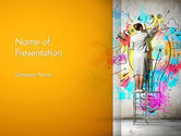 Business Concepts: Creative Mind PowerPoint Template #12698