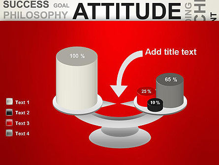 Attitude Word Cloud PowerPoint Template Slide 10