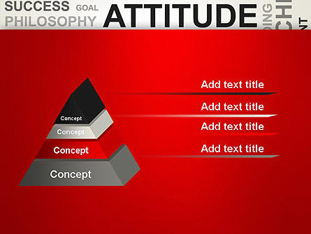 Attitude Word Cloud PowerPoint Template Slide 12