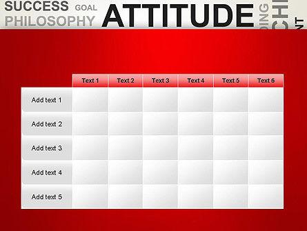 Attitude Word Cloud PowerPoint Template Slide 15