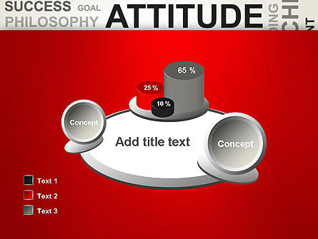 Attitude Word Cloud PowerPoint Template Slide 16
