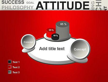 Attitude Word Cloud PowerPoint Template Slide 16
