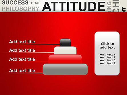 Attitude Word Cloud PowerPoint Template Slide 8