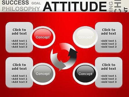 Attitude Word Cloud PowerPoint Template Slide 9