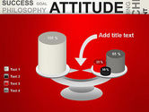 Attitude Word Cloud PowerPoint Template#10