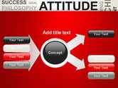 Attitude Word Cloud PowerPoint Template#14