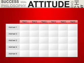 Attitude Word Cloud PowerPoint Template#15