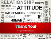 Attitude Word Cloud PowerPoint Template#20