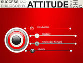 Attitude Word Cloud PowerPoint Template#3