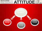 Attitude Word Cloud PowerPoint Template#4