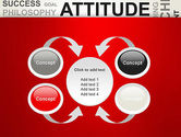 Attitude Word Cloud PowerPoint Template#6