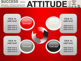Attitude Word Cloud PowerPoint Template#9