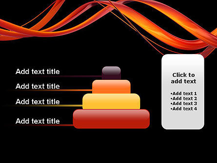 Abstract Red Swirl PowerPoint Template Slide 8