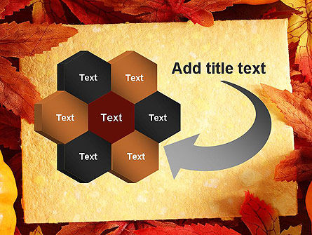 Thanksgiving Card PowerPoint Template Slide 11