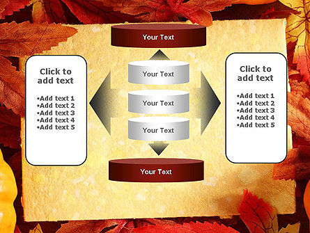 Thanksgiving Card PowerPoint Template Slide 13