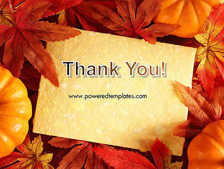 Thanksgiving Card PowerPoint Template Slide 20