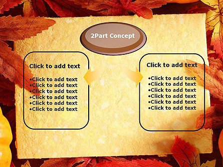 Thanksgiving Card PowerPoint Template, Slide 4, 12702, Holiday/Special Occasion — PoweredTemplate.com