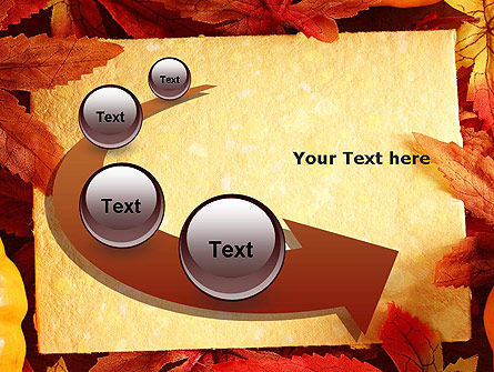 Thanksgiving Card PowerPoint Template Slide 6