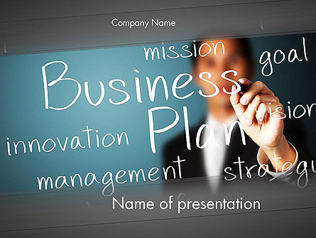 Strategic Business Planning PowerPoint Template, 12703, Careers/Industry — PoweredTemplate.com