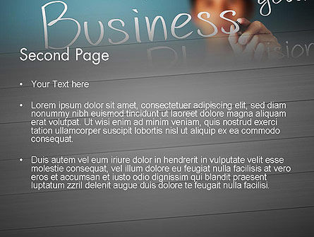 Strategic Business Planning PowerPoint Template, Slide 2, 12703, Careers/Industry — PoweredTemplate.com