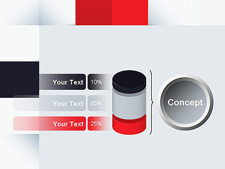 Abstract Square Theme PowerPoint Template Slide 11