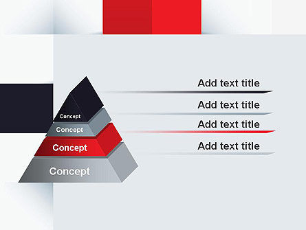 Abstract Square Theme PowerPoint Template Slide 12