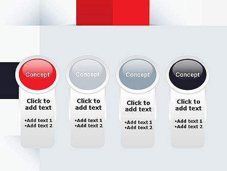 Abstract Square Theme PowerPoint Template Slide 5