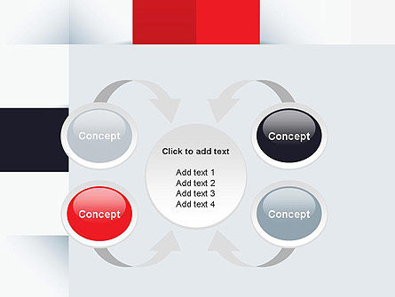 Abstract Square Theme PowerPoint Template Slide 6