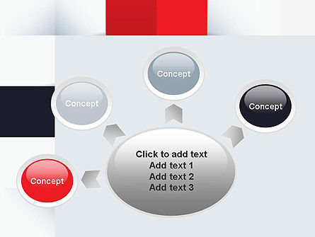 Abstract Square Theme PowerPoint Template Slide 7